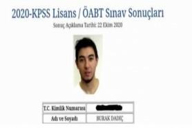 KPSS Türkiye Birincisi